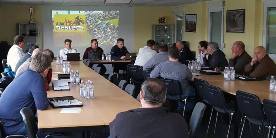 Arbeitstreffen der DMSB Sportkommissare und Rennleiter für Motocross und Supermono beim MSC Teutschenthal