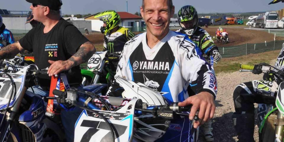 Thomas Knobloch wieder Fahrtsprecher in der Motocross-Landesmeisterschaft Sachsen-Anhalt