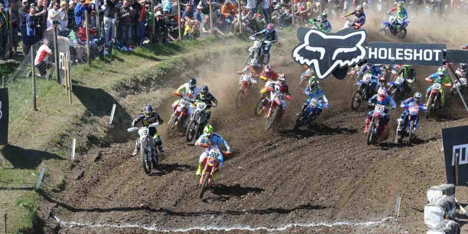 MXGP Start beim Grand Prix of Germany 2016 im TALKESSEL Teutschenthal