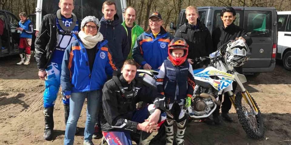 MSC-Crew beim Train the Trainer zur ADAC MX Academy 2017 in Fürstenwalde