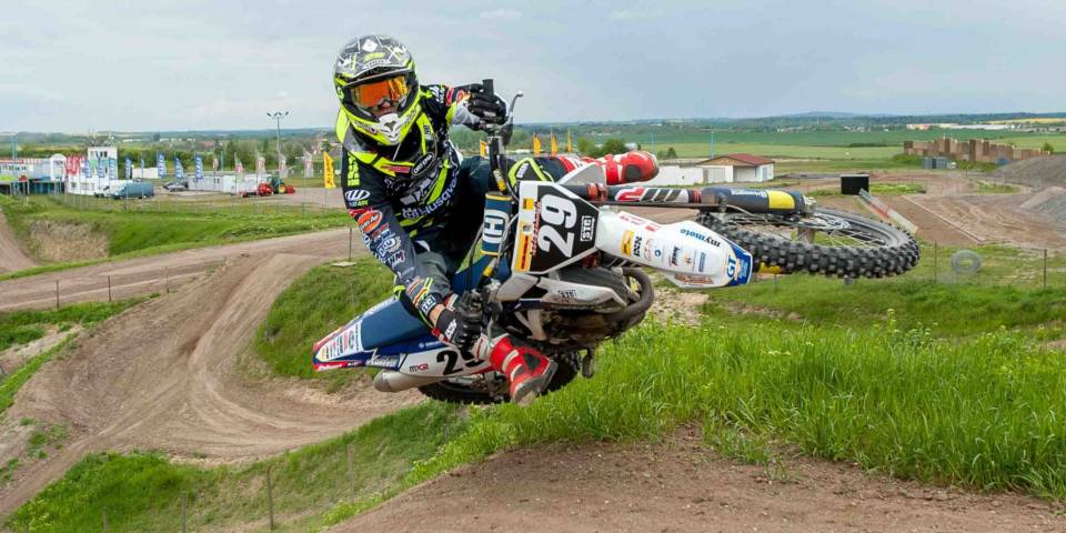 MXGP of Germany 2017 Motocross-WM Henry Jacobi beim Pressetermin