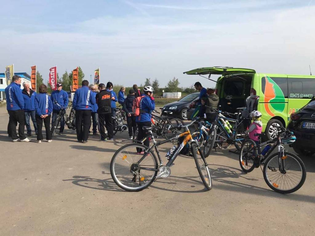 Fahrradtour am 1. Mai 2017