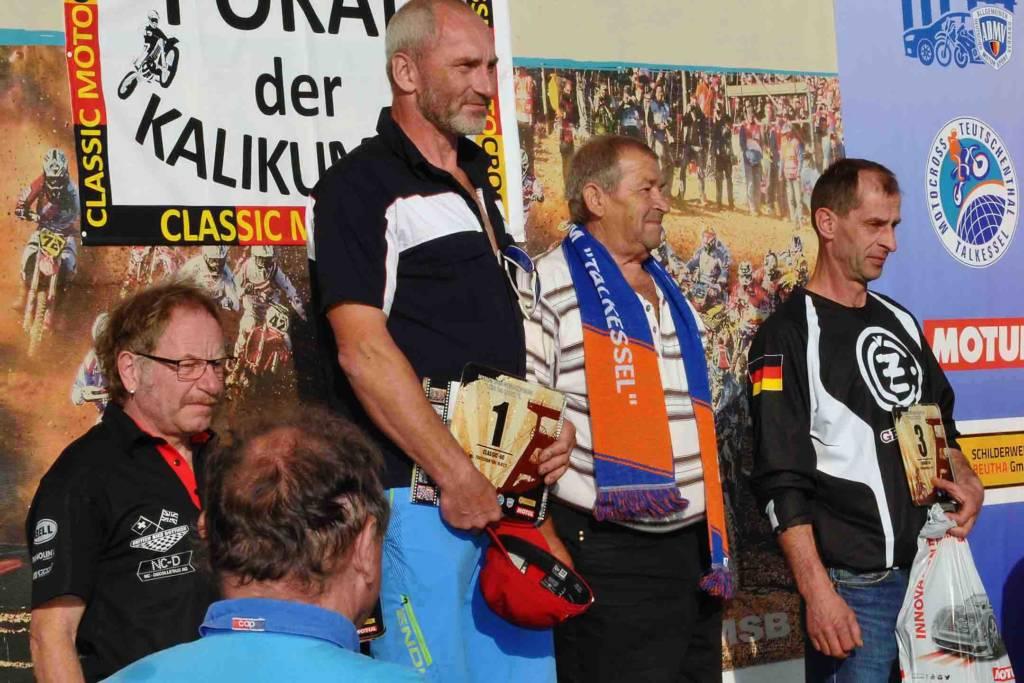 Classic-Rennen: Podium Classic-Klasse, bis 60 Jahre