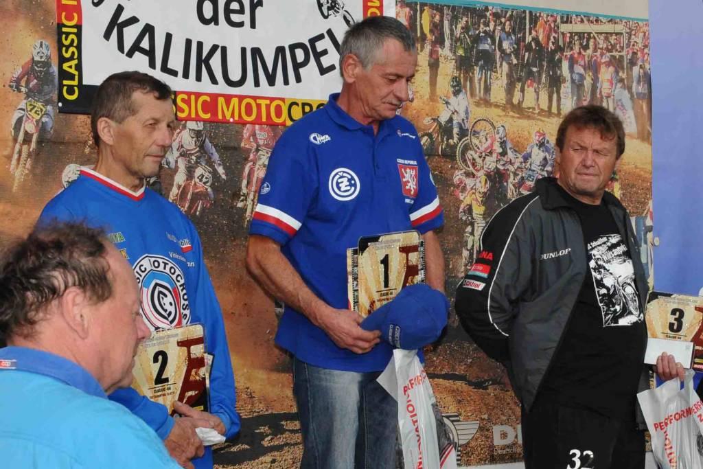 Classic-Rennen: Podium Classic-Klasse, bis 66 Jahre