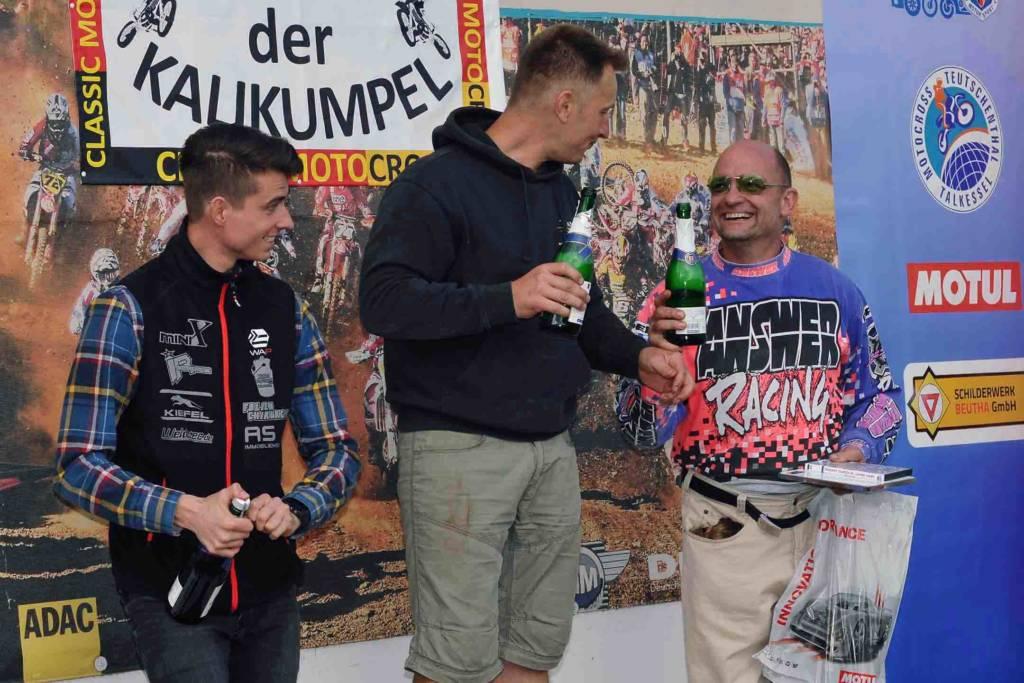 Classic-Rennen: Podium EVO-Klasse, bis 50 Jahre