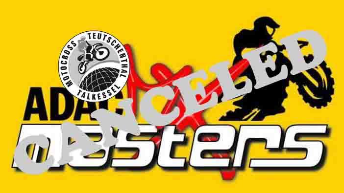 KEINE ADAC MX Masters 2018 in Teutschenthal