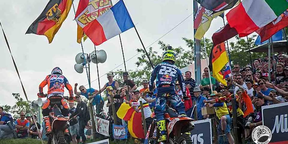 MXGP Motocross-Weltmeisterschaft 2017 Talkessel Teutschenthal