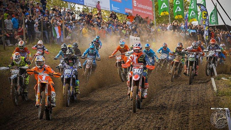 Jorge Prado gewinnt MX2 Grand Prix 2018 in Teutschenthal