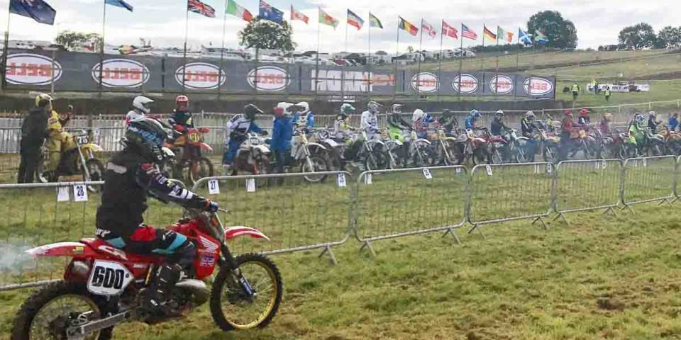 Start beim Vers Motocross des Nations 2017 in Farleigh Castle