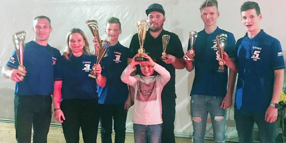 MSC-Fahrer bei der Meisterehrung zur MX-Landesmeisterschaft Sachsen-Anhalt 2018