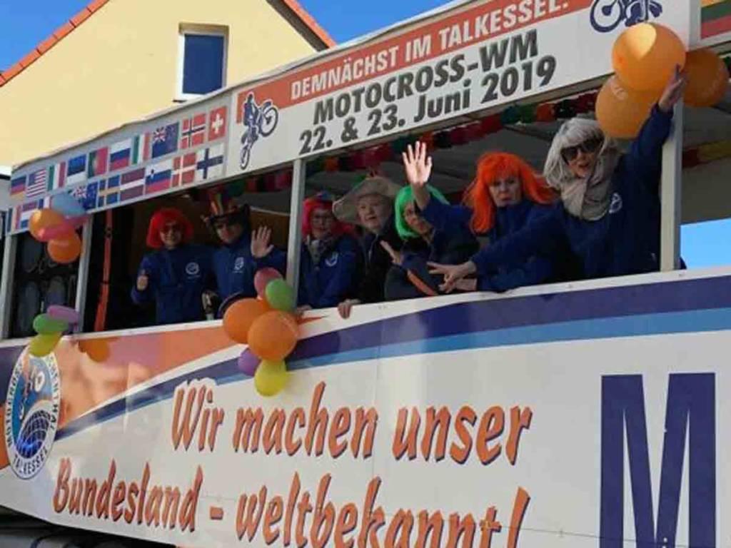 Rosenmontag Umzug Teutschenthal 2019