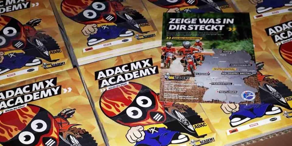 Flyer zur ADAC MX Academy 2019