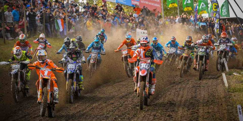 MXGP of Germany 2018, Start Klasse MX2
