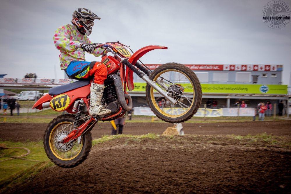 Andreas Feldt #137 (GER, MC Grevesmühlen, Maico 490) Twin-Shock 50+ - TALKESSEL-CLASSICS - 3. Motocross Classic - 11.05.2019 | Talkessel Teutschenthal - Foto: Holger John