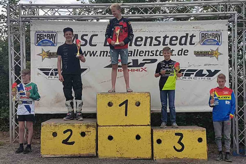 Lennox Wellmann wird Dritter