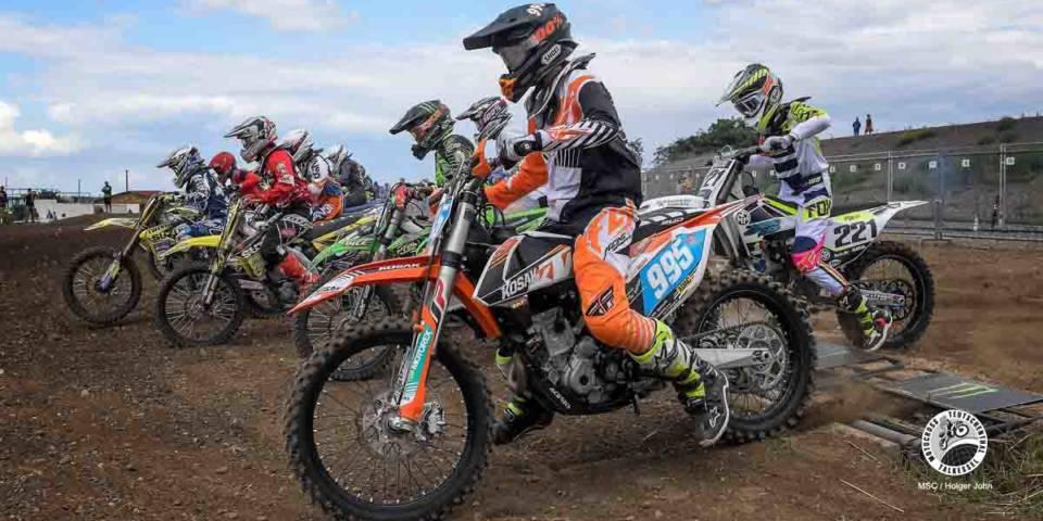 ADAC Motocross Teutschenthal DMV MX Ladies Cup im Bild: Start zu ersten Lauf des DMV MX Ladies Cup