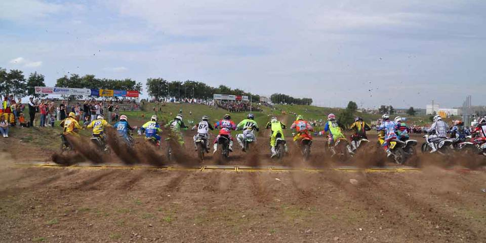 Start MX-Landesmeisterschaft 2015
