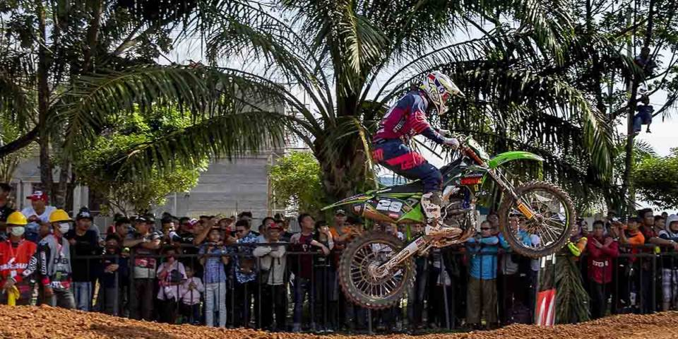 Henry Jacobi beim MXGP in Indonesien 2019