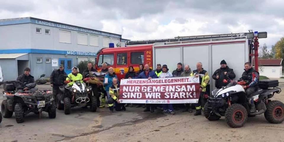 Nur gemeinsam sind wir stark, lautete das Motto des Trainingstags im TALKESSEL, bei dem die Fahrer Geld für den Verein Herzensangelegenheit sammelten.