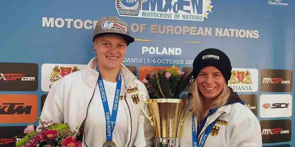 Platz 2 beim MXoEN für Anne Borchers und Larissa Papenmeier